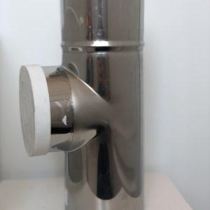 Ćwiartka z rewizją przyłączeniowa L250 FI 60/100