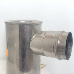 Adapter rozdzielny przyłączeniowy boczny FI 80/125/2x/80/80