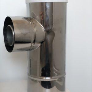 Trójnik przyłączeniowy rewizyjny FI 60/100-80/125