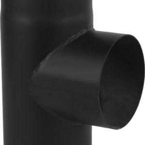 czarny trojnik 90 stopni
