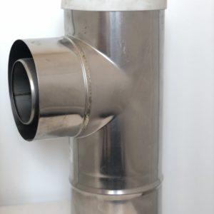 Trójnik przyłączeniowy rewizyjny FI 80/125