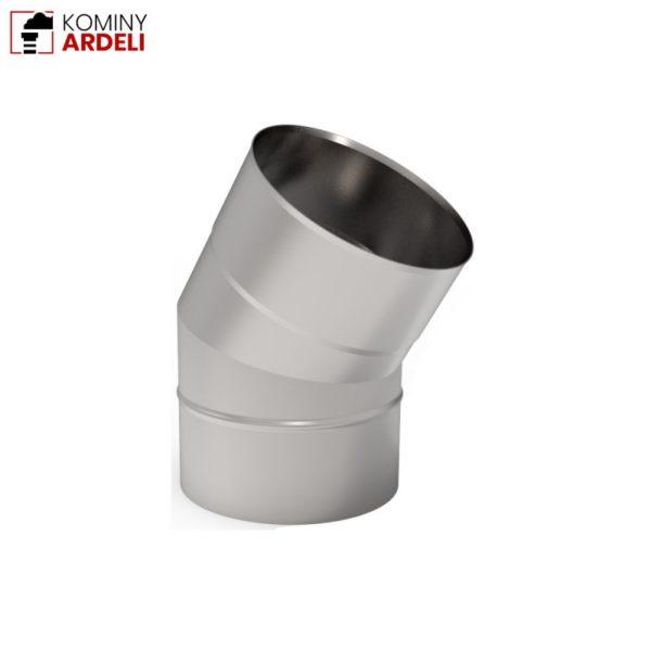 Kolano kominowe 160 30° Żaroodporne 1,0mm Fi