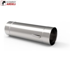 Wkład Kominowy Rura Kwasoodporna Z Uszami 1,0mm 0,5m Fi 200
