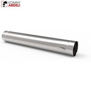 Wkład Kominowy Rura Kwasoodporna Z Uszami 1,0mm 1m Fi 130